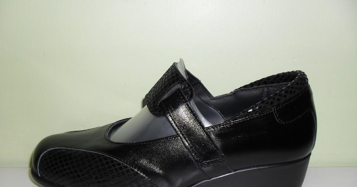 Zapatos con ancho especial de se ora con lycra en la pala for W de porter ortopedia