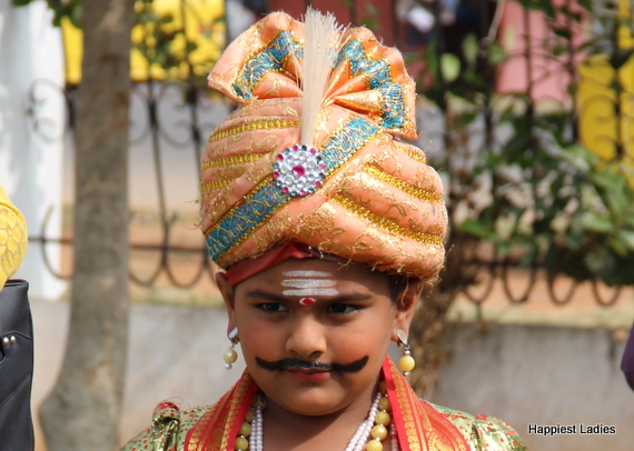 school fancy dress idea indian king