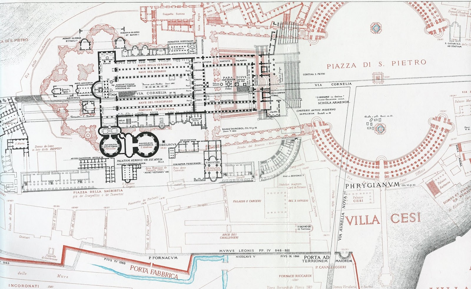 Pantheon Floor Plan Idle Speculations Old Vatican
