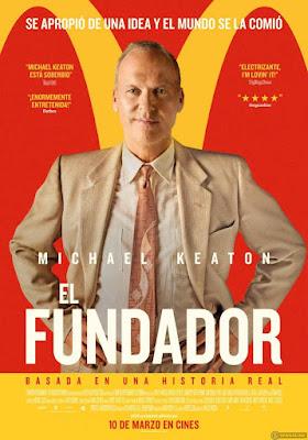 EL FUNDADOR - cartel pelicula