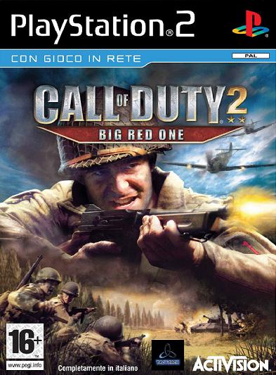 Copertina - Call Of Duty 2: Big Red One   PS2