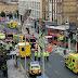 Londres: Ônibus choca-se contra loja e pessoas gritam temendo atentado.