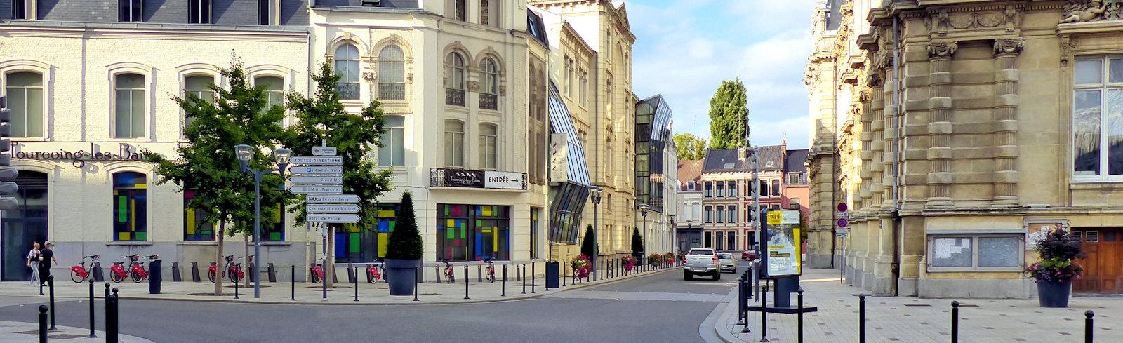 Station V'Lille - Tourcoing, Mairie