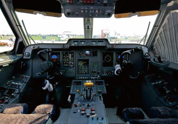 Ilyushin IL-114 cockpit