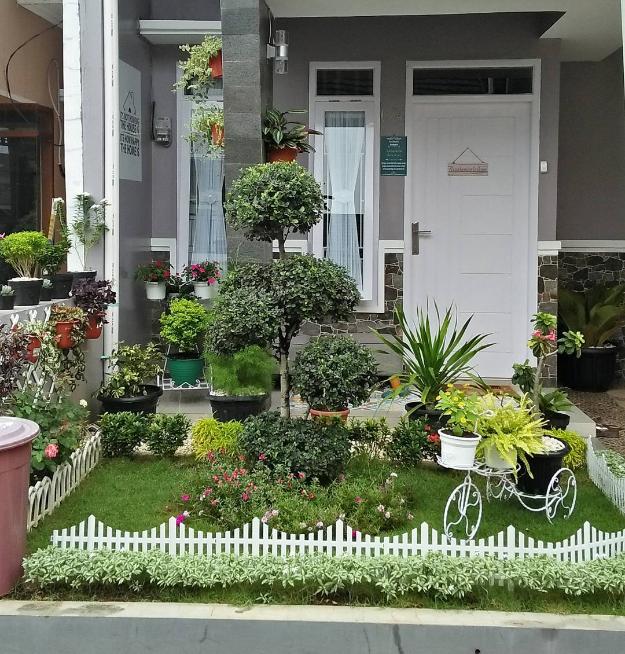 49 Desain Taman dan Kolam Untuk Halaman Rumah Minimalis ...