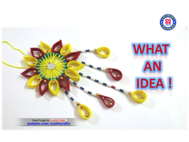 Here is PLASTIC BOTTLE CRAFT IDEAS,WOOLEN WALL HANGING IDEAS,ART&CRAFT FOR KIDS,HOW TO MAKE WALL HANGING USING WOOLEN AND PLASTIC BOTTLE,best out of waste using for plastic bottle,how to reuse plastic bottle,amazing diy craft videos,diy,wall decor,woolen wall decor ideas,how to make wall hanging using plastic bottle and woolen ssartscrafts nanduri lakshmi youtube channel videos