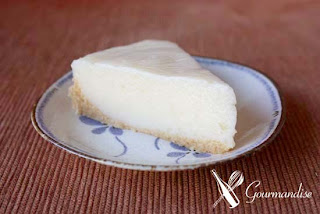 gourmandise no-baked lime yogurt pie