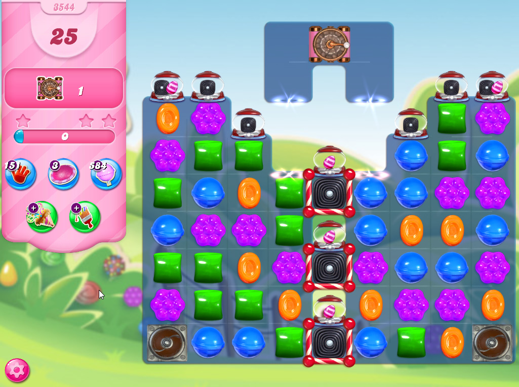 Candy Crush Saga level 3544