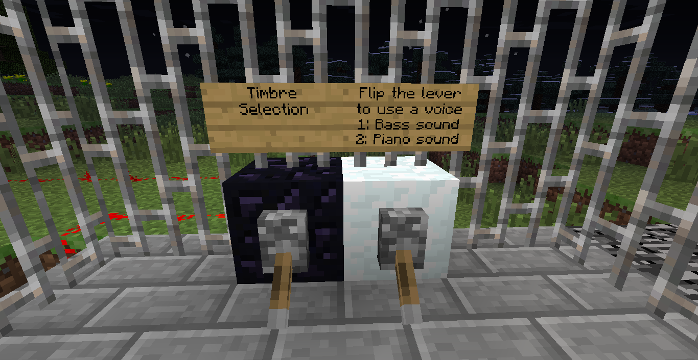 Xanu Electronics Minecraft Synths Redstone Wiring For Dummies Now If You Like Here Is How The Black Keys Are Wired
