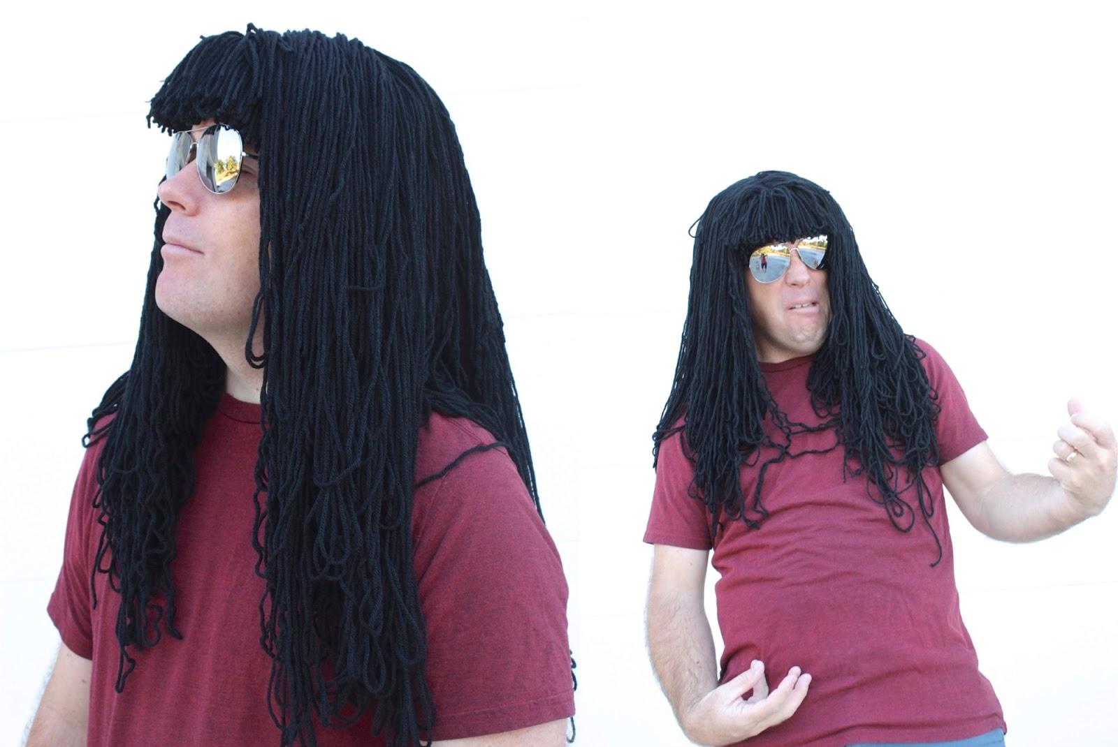 Homemade Yarn Wig 13