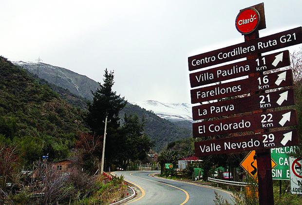 Como chegar na estação de esqui La Parva?