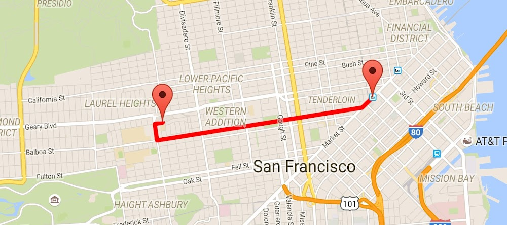 Android Code] Using Google Maps Direction API on Android with Google on