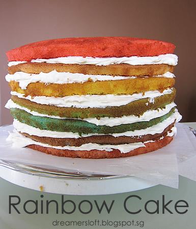 Rainbow Layer Cake Recipe Nz