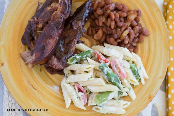 Crock Pot Sweet Smoky Barbecue Ribs from Flour on My Face