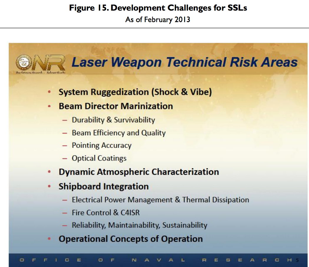 DARPA projects SSLlaserchallenges