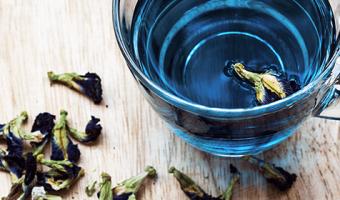 Propiedades del té azul o oolong para adelgazar y su preparación