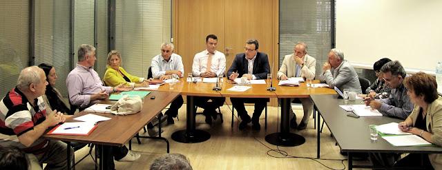 Σύσκεψη για θέματα Περιβάλλοντος με τον Αναπληρωτή ΥΠΕΝ Σωκράτη Φάμελλο στην Αποκεντρωμένη Διοίκηση