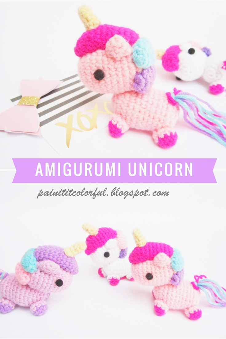 Amigurumi Unicorn Free Pattern A Little Love Everyday