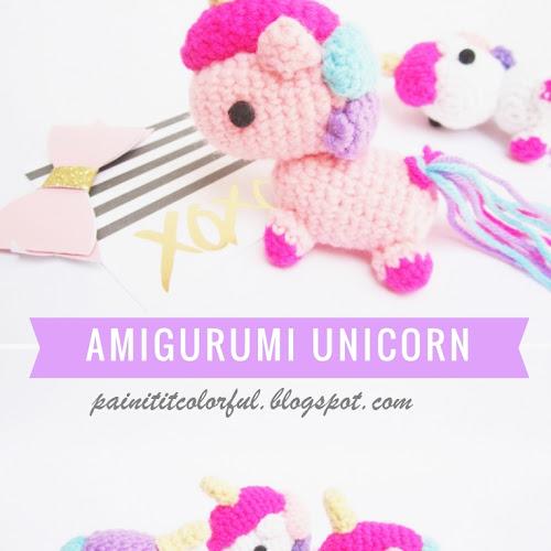 Unicorn Amigurumi Pattern Big Plush Unicorn Crochet Pattern | Etsy | 500x500