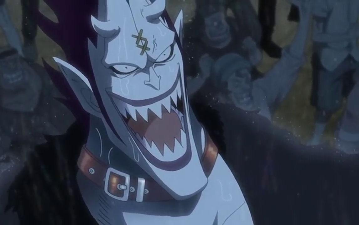 Gecko Moria vs Kaido