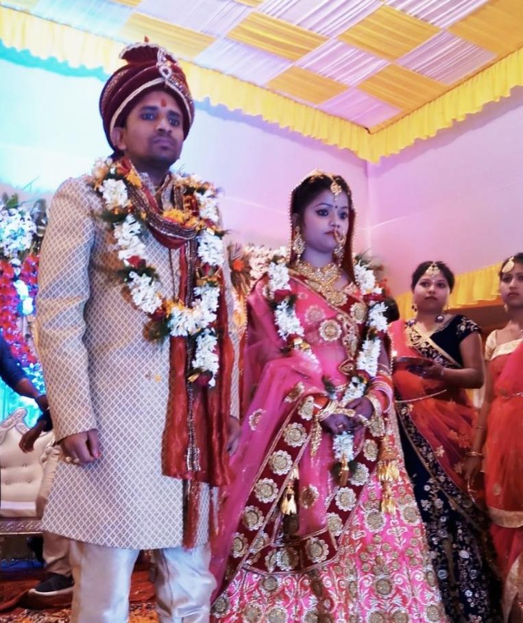India Daily Eye: Family News : Marriage ceremony of Pushpesh Kranti