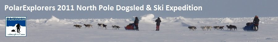 PolarExplorers 2011 Dogsled & Ski North Pole Exped