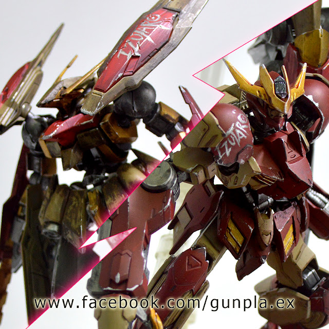 Pla-Robo's Citadel Paint on Gunpla by Putra Shining & Izumeru