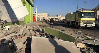 الدفاعات السعودية تعترض صاروخ باليستي في سماء مدينة نجران جنوبي السعودية