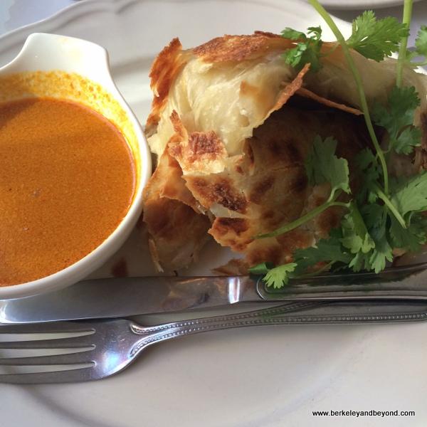 roti prata at Borobudur Indonesian restaurant in San Francisco