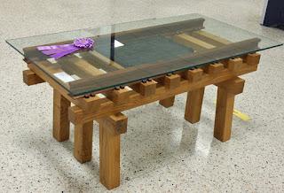 """""""Trestle Table"""" by John Wilkinson - Best in Show"""
