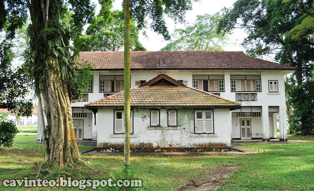 Entree Kibbles Houses Along Old Birdcage Walk Seletar