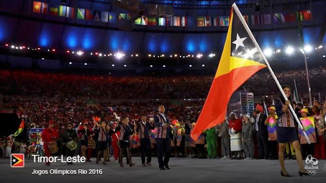 Em 2004, Timor-Leste foi convidado pela primeira vez a participar nas Olimpíadas de Atenas, na Grécia. O país competiu com uma pequena delegação na modalidade atletismo. Agueda Amaral e Gil da Cruz Trindade foram os atletas que envergaram a camisola timorense.  Em Londres, nas Olimpíadas de 2012, Timor volta a marcar presença na competição e novamente com o atletismo. Augusto Soares (que terminou a maratona em penúltimo lugar) e Juventina Napoleão (tendo terminado em 86° lugar) foram os representantes da nação timorense. A ex-maratonista olímpica enviou a seguinte mensagem para os seus colegas timorenses: