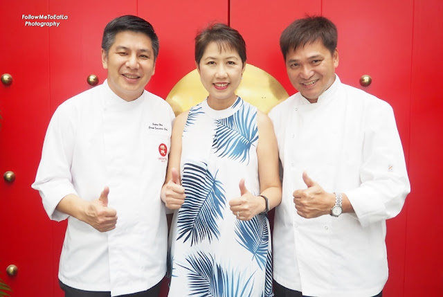 Honoured Dining With Fabulous Chef Justin Hor (Left) & Chef Peter Tsang (Right)