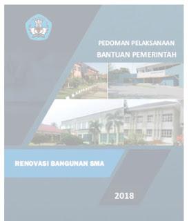 Buku Pedoman Pelaksanaan Bantuan Pemerintah Renovasi Bangunan 2018