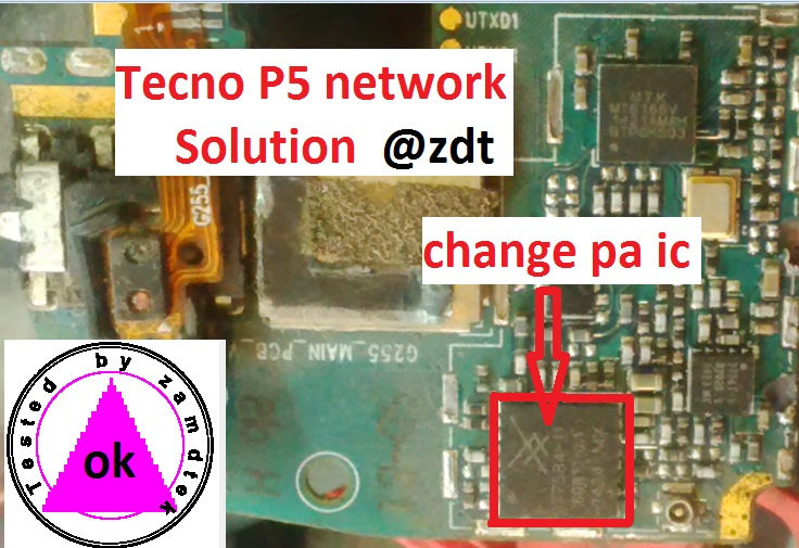 Tecno android p5 network solution