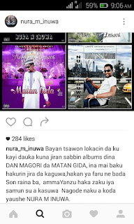 Nura M Inuwa on Instagram