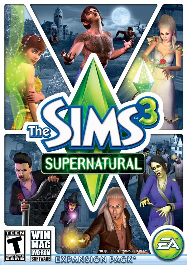 The-Sims-3-Supernatural-Download-Cover-Free-Game