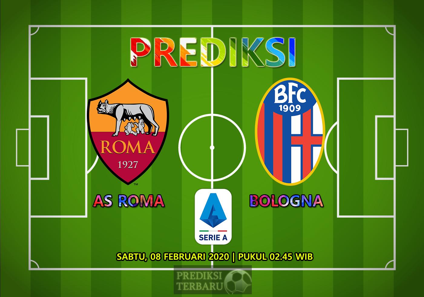 Prediksi AS Roma Vs Bologna 08 Februari