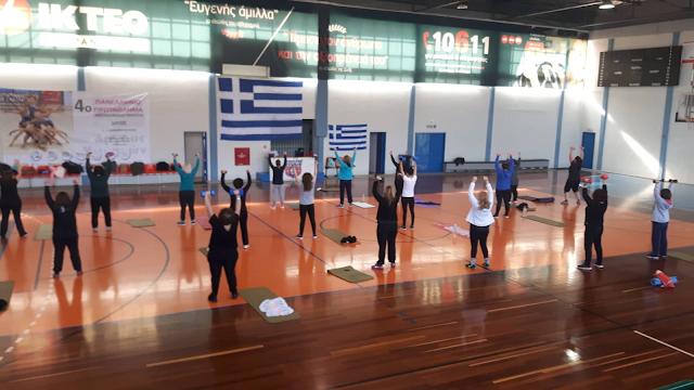 """Συνεχίζεται επιτυχημένα η δράση """"Γυναίκα και Αθλητισμός"""" στο ΔΑΚ Άργους"""