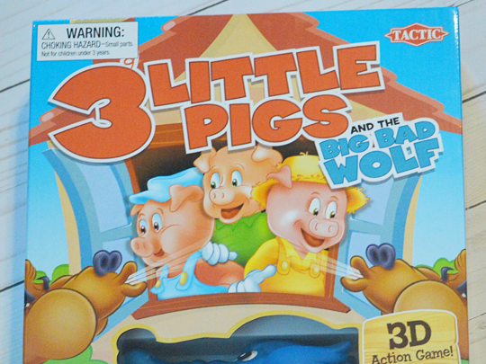 The Perfect Game for Cold Winter Days: 3 Little Pigs Board Game Review