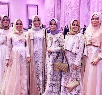 Contoh Model Kebaya Muslim Syari Modern