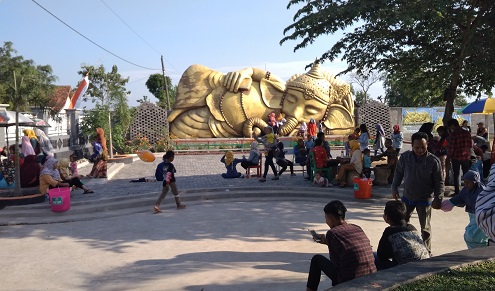 Patung Ganesha Tidur Banjarejo