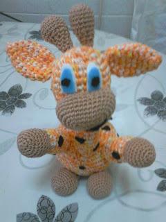 jirafa a crochet