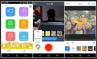 fitur kamera kratif aplikasi edit video terbaik