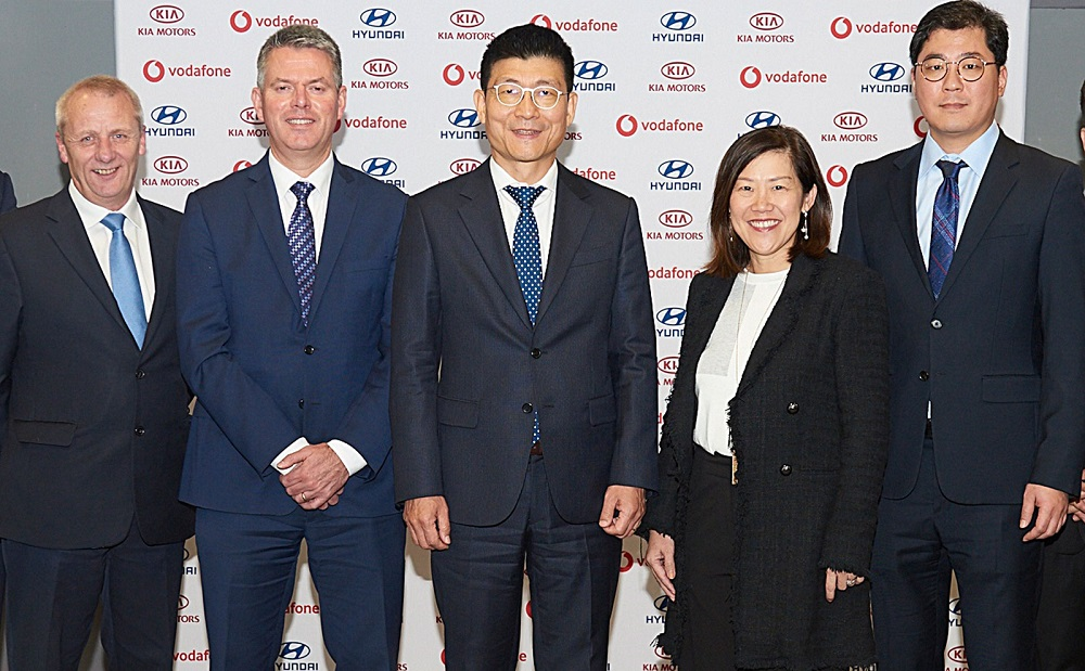 Hyundai and Kia enter strategic partnership with Vodafone