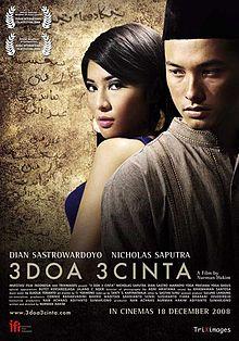 Download Kumpulan Film Indonesia Gratis 3 Doa 3 Cinta 2008