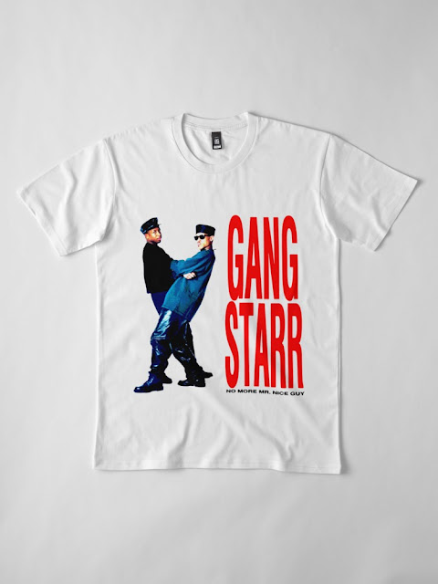 GANG STARR - NO MORE MR NICE GUY TSHIRT