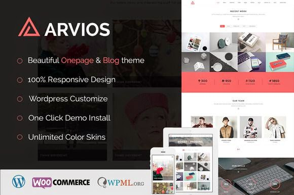 Arvios - Multipurpose WordPress Theme