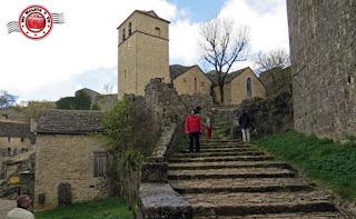 La Couvertoirade - Iglesia