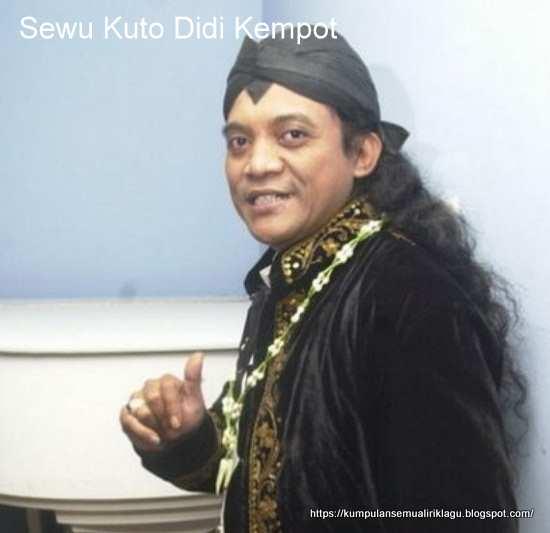 Sewu Kuto Didi Kempot